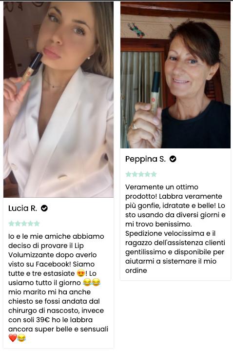 Recensioni Lip Volumizzante Labbra Eco Bio Boutique
